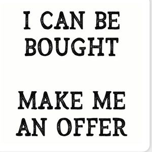 *****Make Me An Offer*****